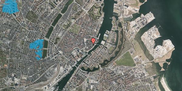 Oversvømmelsesrisiko fra vandløb på Holbergsgade 20, 3. th, 1057 København K