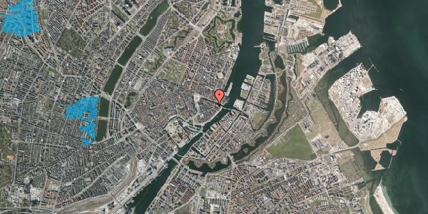 Oversvømmelsesrisiko fra vandløb på Holbergsgade 26, 4. th, 1057 København K