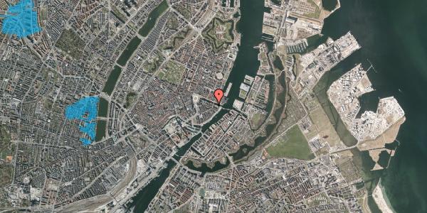 Oversvømmelsesrisiko fra vandløb på Holbergsgade 28A, 1. th, 1057 København K