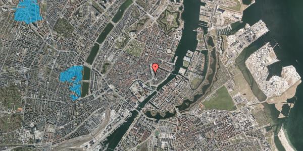 Oversvømmelsesrisiko fra vandløb på Holmens Kanal 2, kl. , 1060 København K