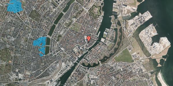 Oversvømmelsesrisiko fra vandløb på Holmens Kanal 7, st. 2, 1060 København K