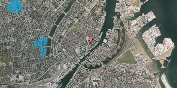 Oversvømmelsesrisiko fra vandløb på Holmens Kanal 7, 1. 2, 1060 København K