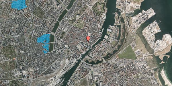Oversvømmelsesrisiko fra vandløb på Holmens Kanal 22, kl. , 1060 København K