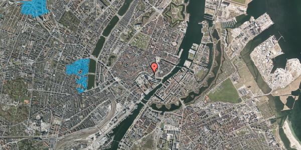 Oversvømmelsesrisiko fra vandløb på Holmens Kanal 42, st. , 1060 København K