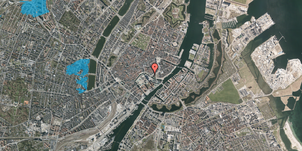Oversvømmelsesrisiko fra vandløb på Holmens Kanal 42, 2. , 1060 København K