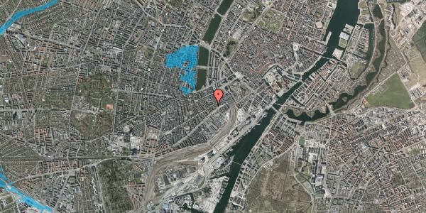 Oversvømmelsesrisiko fra vandløb på Istedgade 17, 5. tv, 1650 København V