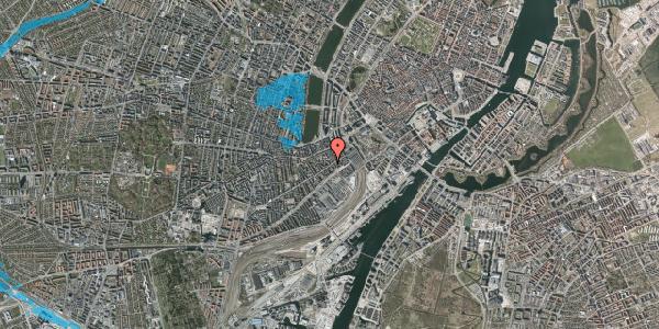 Oversvømmelsesrisiko fra vandløb på Istedgade 20, 2. , 1650 København V