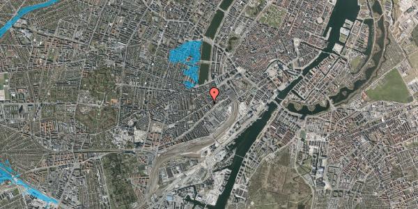 Oversvømmelsesrisiko fra vandløb på Istedgade 27, 4. tv, 1650 København V