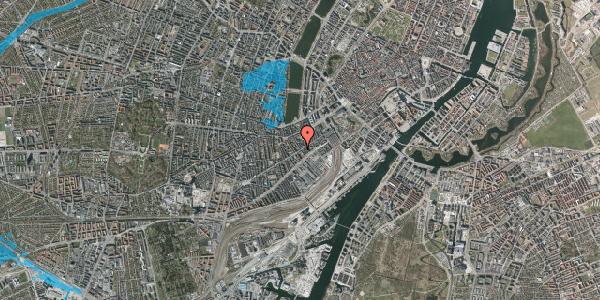 Oversvømmelsesrisiko fra vandløb på Istedgade 34, 3. tv, 1650 København V