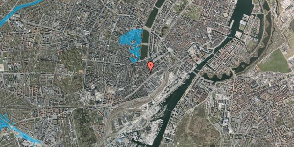 Oversvømmelsesrisiko fra vandløb på Istedgade 36, 2. th, 1650 København V