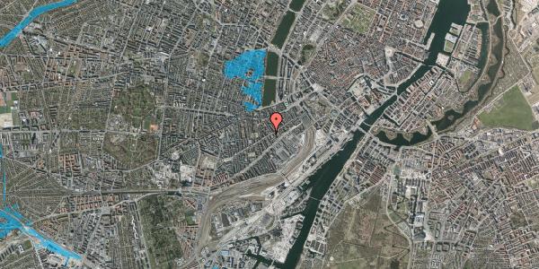 Oversvømmelsesrisiko fra vandløb på Istedgade 42A, 1. th, 1650 København V