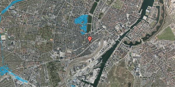 Oversvømmelsesrisiko fra vandløb på Istedgade 43B, 2. tv, 1650 København V