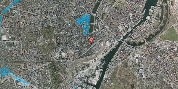 Oversvømmelsesrisiko fra vandløb på Istedgade 47, 1. , 1650 København V