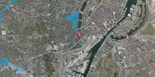 Oversvømmelsesrisiko fra vandløb på Istedgade 49, 3. tv, 1650 København V