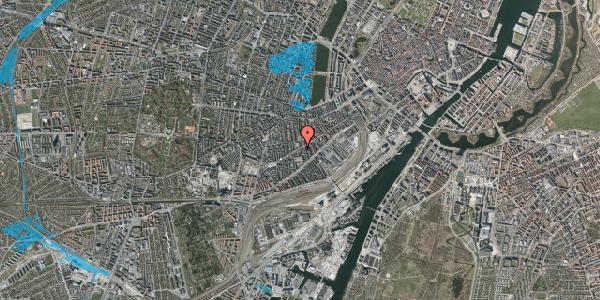 Oversvømmelsesrisiko fra vandløb på Istedgade 65, 4. , 1650 København V