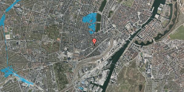 Oversvømmelsesrisiko fra vandløb på Istedgade 67, 1. tv, 1650 København V