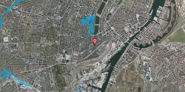 Oversvømmelsesrisiko fra vandløb på Istedgade 72, 3. , 1650 København V