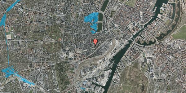 Oversvømmelsesrisiko fra vandløb på Istedgade 75, 4. th, 1650 København V