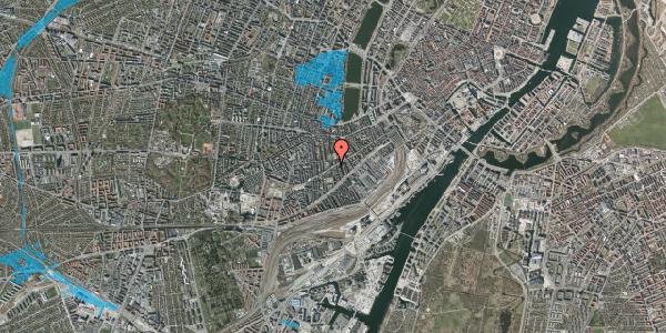 Oversvømmelsesrisiko fra vandløb på Istedgade 86, st. 2, 1650 København V