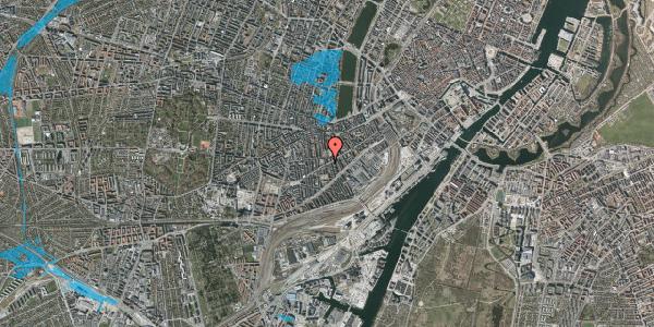 Oversvømmelsesrisiko fra vandløb på Istedgade 88, 1. , 1650 København V