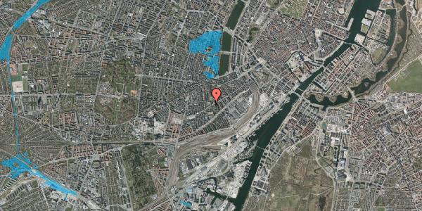 Oversvømmelsesrisiko fra vandløb på Istedgade 90, 5. , 1650 København V