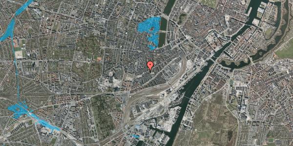 Oversvømmelsesrisiko fra vandløb på Istedgade 97, 2. tv, 1650 København V