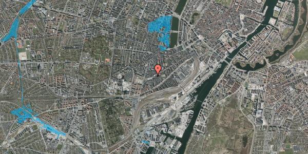 Oversvømmelsesrisiko fra vandløb på Istedgade 109, 2. th, 1650 København V