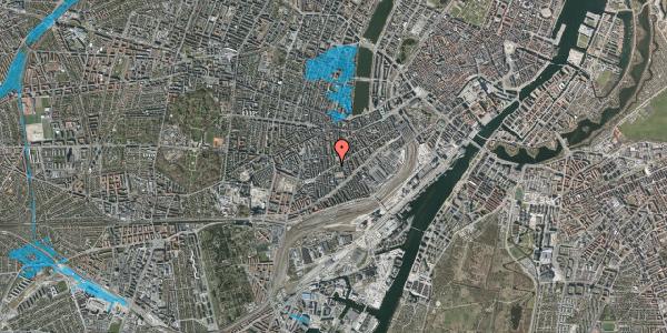 Oversvømmelsesrisiko fra vandløb på Istedgade 112, st. tv, 1650 København V