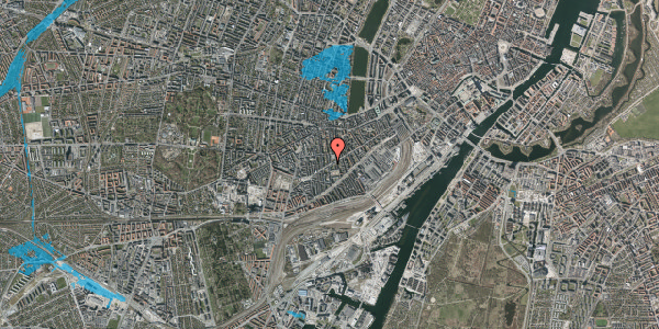 Oversvømmelsesrisiko fra vandløb på Istedgade 112, 1. , 1650 København V