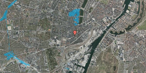Oversvømmelsesrisiko fra vandløb på Istedgade 128, 3. , 1650 København V
