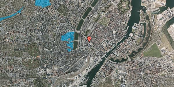 Oversvømmelsesrisiko fra vandløb på Jernbanegade 4A, 4. tv, 1608 København V
