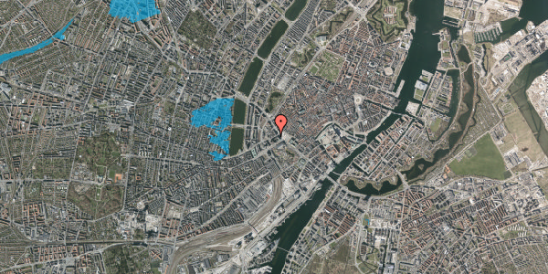 Oversvømmelsesrisiko fra vandløb på Jernbanegade 4, 1. tv, 1608 København V