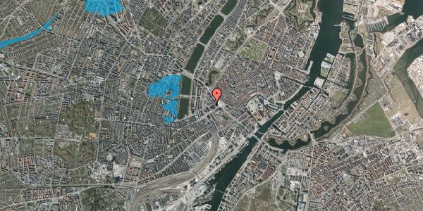 Oversvømmelsesrisiko fra vandløb på Jernbanegade 6, 1. th, 1608 København V