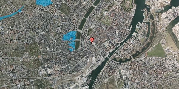 Oversvømmelsesrisiko fra vandløb på Jernbanegade 7, kl. 1, 1608 København V