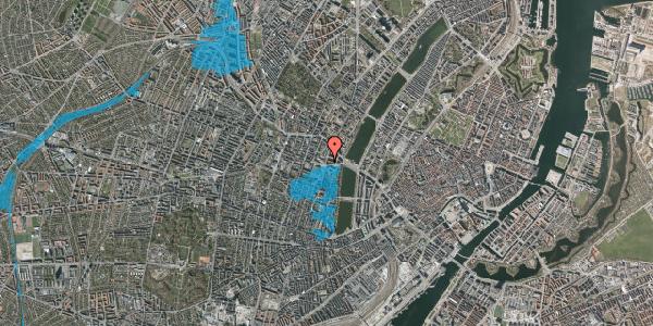 Oversvømmelsesrisiko fra vandløb på Julius Thomsens Gade 12, 3. tv, 1632 København V