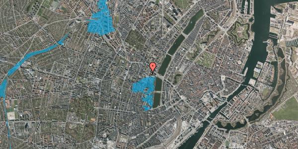 Oversvømmelsesrisiko fra vandløb på Julius Thomsens Gade 14, 4. tv, 1632 København V