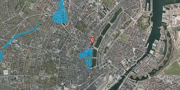 Oversvømmelsesrisiko fra vandløb på Julius Thomsens Gade 20, 2. tv, 1632 København V
