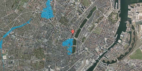 Oversvømmelsesrisiko fra vandløb på Julius Thomsens Gade 22, 1. th, 1632 København V