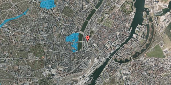 Oversvømmelsesrisiko fra vandløb på Kampmannsgade 1, 3. , 1604 København V