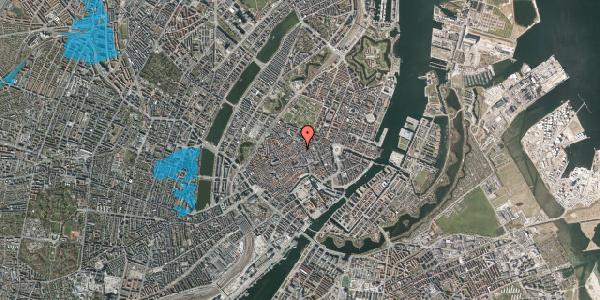 Oversvømmelsesrisiko fra vandløb på Klareboderne 2, 1. , 1115 København K