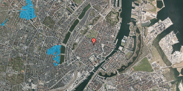 Oversvømmelsesrisiko fra vandløb på Klareboderne 6, 3. , 1115 København K