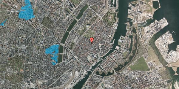 Oversvømmelsesrisiko fra vandløb på Klareboderne 14, st. tv, 1115 København K
