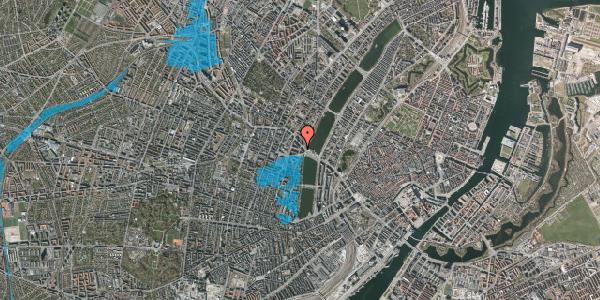 Oversvømmelsesrisiko fra vandløb på Kleinsgade 1, 1. 3, 1633 København V