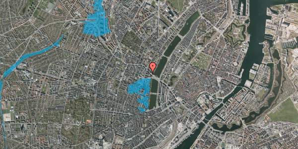 Oversvømmelsesrisiko fra vandløb på Kleinsgade 2, 3. th, 1633 København V