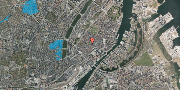 Oversvømmelsesrisiko fra vandløb på Klosterstræde 8, kl. , 1157 København K