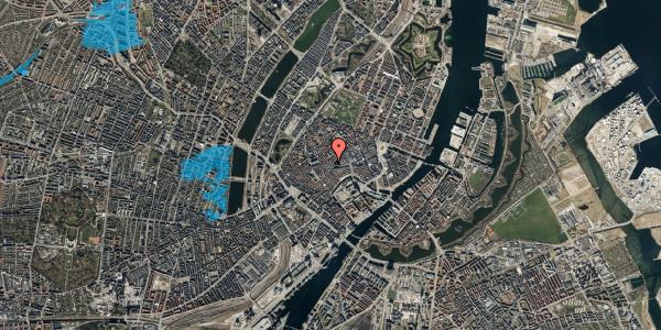 Oversvømmelsesrisiko fra vandløb på Klosterstræde 8, 4. , 1157 København K