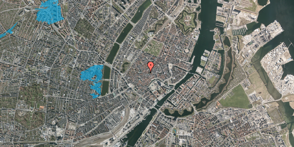 Oversvømmelsesrisiko fra vandløb på Klosterstræde 10, kl. , 1157 København K