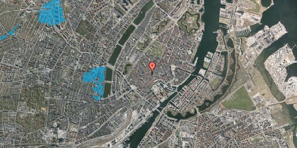 Oversvømmelsesrisiko fra vandløb på Klosterstræde 20, 3. , 1157 København K