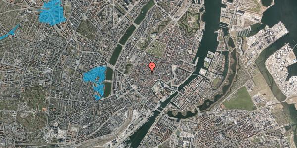 Oversvømmelsesrisiko fra vandløb på Klosterstræde 21, 1. , 1157 København K