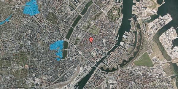 Oversvømmelsesrisiko fra vandløb på Klosterstræde 22, 2. tv, 1157 København K